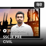 SSC JE Civil Engineering Video Course