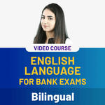 English Language for Bank Exams Video Course (Bilingual)