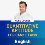 Quantitative Aptitude for Bank Exams Video Course (English)