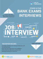 A Guide To Crack Bank Exams Interviews Book (English Printed Edition)