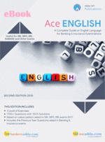 Ace English Language eBook for Bank and Insurance Exam