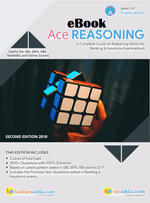 Ace Reasoning Ability For Banking and Insurance (English E-Book)