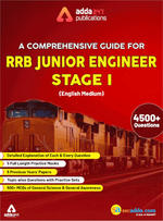 A Comprehensive Guide for RRB Junior Engineer Stage I English Printed Edition (RRB JE)