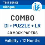 Mission PO Clerk Combo (Puzzle+DI+Logical Reasoning) Online Test Series
