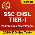 SSC CHSL Tier I Previous Year's Papers ( 2016-2019): Online Test Series