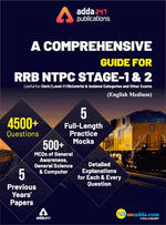 A Comprehensive Guide for RRB NTPC, Group D, ALP & Others Exams 2020 English Printed Edition (NTPC Special)