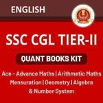 SSC CGL TIER II QUANT BOOKS KIT (English Printed Edition)