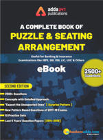 A Complete eBook of Puzzles & Seating Arrangement (Second English Edition)