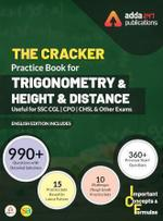 The Cracker Practice Book for Trigonometry and Height & Distance (In English Printed Edition)