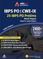 IBPS PO 2020 Prelims Mocks Papers English Printed Edition (IBPS PO Special)