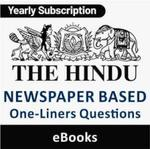 The Hindu Newspaper Based One-Liners Questions eBooks (Yearly Pack)