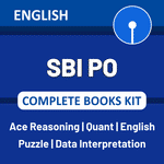 SBI PO 2021 Complete Books Kit (English Printed Edition)