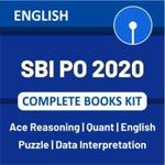 SBI PO 2020 Complete Books Kit (English Printed Edition)