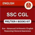 SSC CGL Tier-I Book Kit (English Printed Edition)