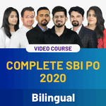 Complete SBI PO 2020 Video Course