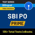 SBI PO Prime 2020-21 Online Test Series
