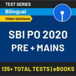 SBI PO Prime 2020 Online Test Series