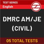 DMRC AM/JE (Civil) Online Test Series