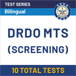 DRDO MTS CBT (Screening) Online Test Series