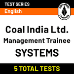 Coal India Limited Management Trainee (Systems) Online Test Series
