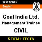 Coal India Limited Management Trainee (Civil) Online Test Series