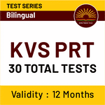 KVS PRT Online Test Series