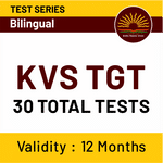 KVS TGT Online Test Series