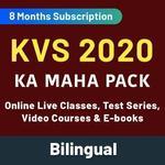 KVS 2020 KA MAHA PACK (Online Live Classes, Test Series, Video Courses & E-books)