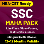 SSC Maha Pack (12 + 12 Months Validity)