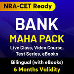 Bank Maha Pack (Validity 6 Months)