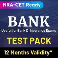 Bank Test Pack Online Test Series (Validity 12 Months)
