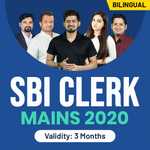 SBI Clerk Mains 2020 Video Course