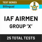 IAF Airmen Group X TECHNICAL 2020 Online Test Series