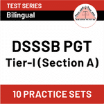 DSSSB PGT Section A 2020 Online Test Series