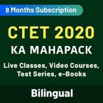 CTET 2020 KA MAHAPACK Live classes Video Courses Test Series E-Books