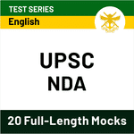 UPSC National Defence Academy NDA 2020 Online Test Series
