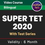 Super TET 2020 Video Course With Test Series