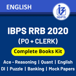 IBPS RRB Books Kit 2020 (Prelims + Mains): IBPS RRB Best Books English Printed Edition