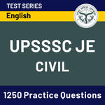 UPSSSC-JE (Civil Engineering) 2020 Online Test Series