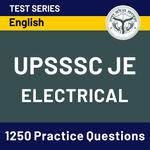 UPSSSC-JE (Electrical Engineering) 2020 Online Test Series