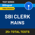 SBI Clerk Mains 2020 Online Test Series