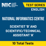 National Informatics Centre Scientist 'B' and Scientific-Technical Assistant 'A' 2020 Online Test Series
