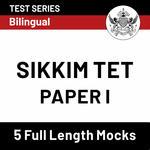 Sikkim TET Paper I 2020 Online Test Series