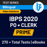 IBPS PO and Clerk Prime 2020 Online Test Series