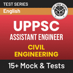 UPPSC Assistant Engineer (Civil Engineering) 2020 Online Test Series