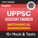 UPPSC Assistant Engineer (Mechanical Engineering) 2020 Online Test Series