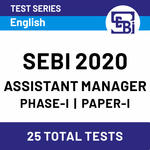 SEBI Assistant Manager Phase I 2020 Online Test Series