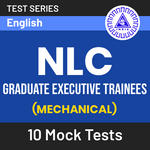 NLC Graduate Executive Trainees (Mechanical) 2020 Online Test Series