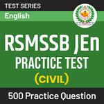 RSMSSB JEn Civil Practice Test Online Test Series