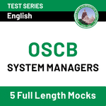 OSCB System Managers Online Test Series